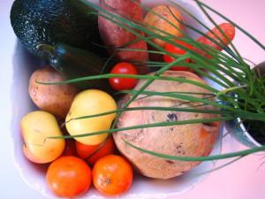värsked köögiviljad