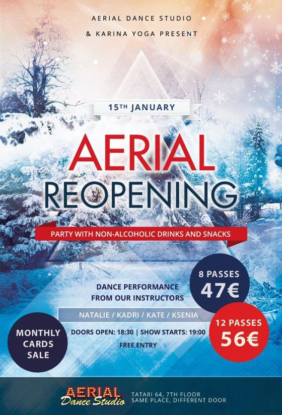 Aerial Opening
